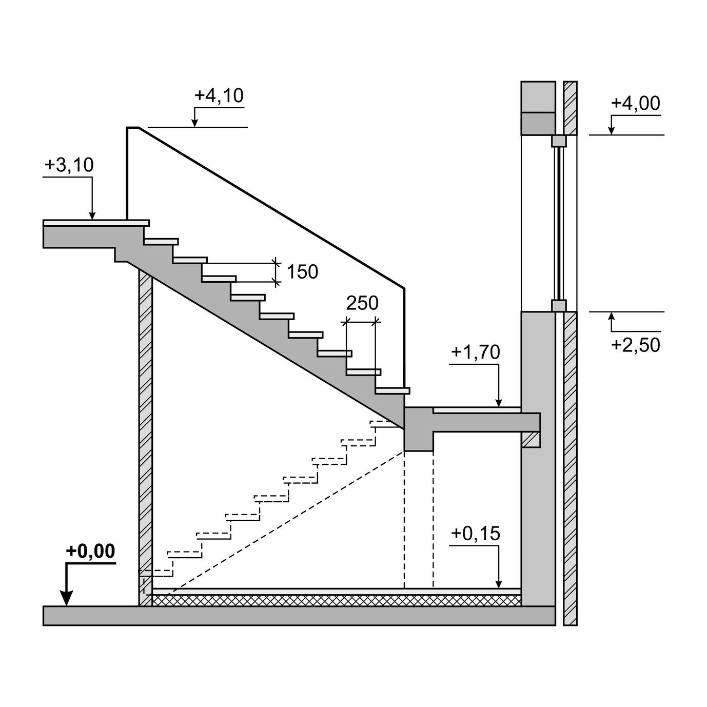 vorsicht treppe tipps f r mehr sicherheit maler grosser. Black Bedroom Furniture Sets. Home Design Ideas